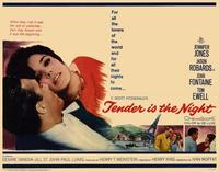 Tender is the Night - 22 x 28 Movie Poster - Half Sheet Style A
