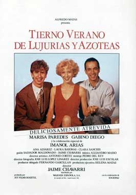 Tender Summer of Lust on the Rooftops - 11 x 17 Movie Poster - Spanish Style A