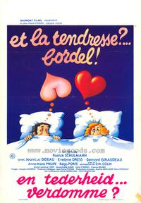 Tenderness, My Fanny - 11 x 17 Movie Poster - Belgian Style A