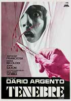 Tenebre - 11 x 17 Movie Poster - Spanish Style A