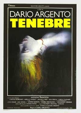 Tenebre - 27 x 40 Movie Poster - Italian Style A