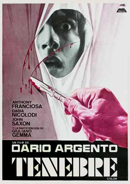 Tenebre - 27 x 40 Movie Poster - Spanish Style A