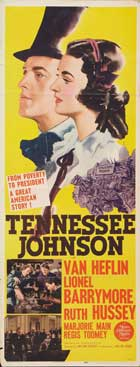 Tennessee Johnson - 14 x 36 Movie Poster - Insert Style A