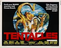 Tentacles - 11 x 17 Movie Poster - Style D