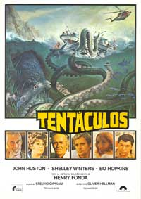 Tentacles - 11 x 17 Movie Poster - Spanish Style A
