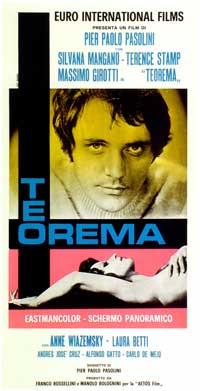 Teorema - 11 x 17 Movie Poster - Italian Style B