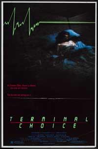 Terminal Choice - 27 x 40 Movie Poster - Style B