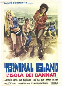 Terminal Island - 39 x 55 Movie Poster - Italian Style A