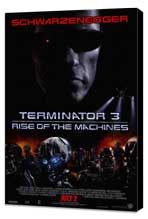 Terminator 3: Rise of the Machines - 27 x 40 Movie Poster - Style A - Museum Wrapped Canvas