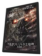 Terminator: Salvation - 27 x 40 Movie Poster - Style B - in Deluxe Wood Frame