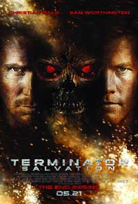 Terminator: Salvation - 43 x 62 Movie Poster - Bus Shelter Style D