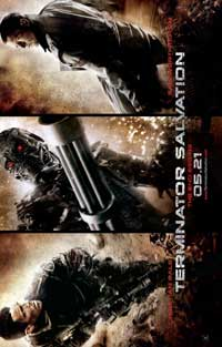 Terminator: Salvation - 43 x 62 Movie Poster - Bus Shelter Style E