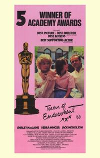 Terms of Endearment - 11 x 17 Movie Poster - Australian Style A