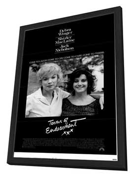 Terms of Endearment - 11 x 17 Movie Poster - Style A - in Deluxe Wood Frame