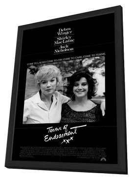 Terms of Endearment - 27 x 40 Movie Poster - Style A - in Deluxe Wood Frame