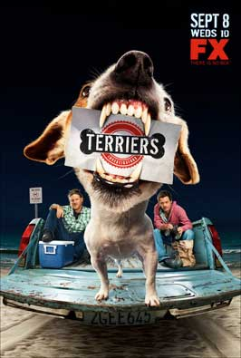 Terriers (TV) - 11 x 17 TV Poster - Style B