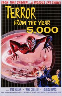 Terror From the Year 5,000 - 11 x 17 Movie Poster - Style A