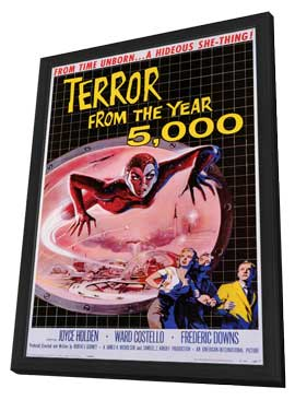 Terror From the Year 5,000 - 27 x 40 Movie Poster - Style A - in Deluxe Wood Frame