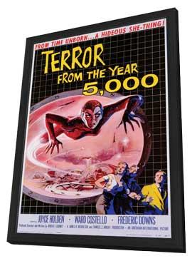 Terror From the Year 5,000 - 11 x 17 Movie Poster - Style A - in Deluxe Wood Frame