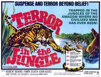 Terror in the Jungle - 11 x 14 Movie Poster - Style A