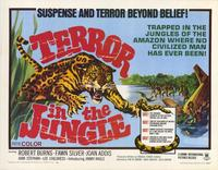 Terror in the Jungle - 22 x 28 Movie Poster - Half Sheet Style A