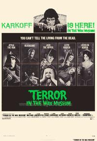 Terror in the Wax Museum - 27 x 40 Movie Poster - Style A