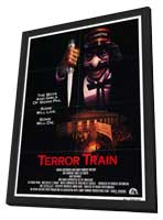 Terror Train - 27 x 40 Movie Poster - Style A - in Deluxe Wood Frame