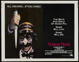 Terror Train - 22 x 28 Movie Poster - Half Sheet Style A