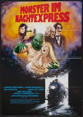 Terror Train - 27 x 40 Movie Poster - German Style A