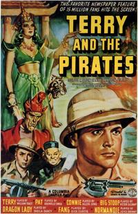 Terry and the Pirates - 11 x 17 Movie Poster - Style A