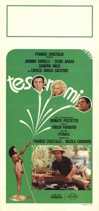 Tesoro mio - 13 x 28 Movie Poster - Italian Style A