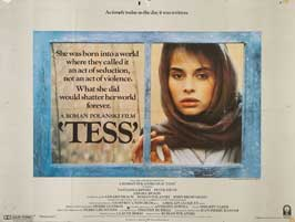 Tess - 27 x 40 Movie Poster - UK Style A