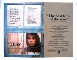 Tess - 22 x 28 Movie Poster - Half Sheet Style A