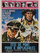 Testa di sbarco per otto implacabili - 11 x 17 Movie Poster - French Style A