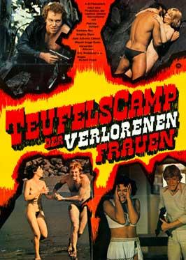 Teufelscamp der verlorenen Frauen - 43 x 62 Movie Poster - German Style A