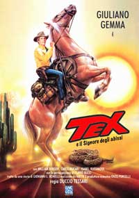 Tex and the Lord of the Deep - 11 x 17 Movie Poster - Italian Style A