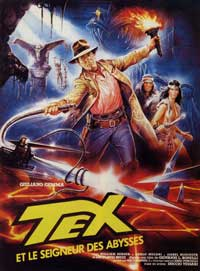 Tex and the Lord of the Deep - 11 x 17 Movie Poster - French Style A