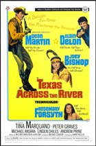 Texas across the River - 11 x 17 Movie Poster - Style A