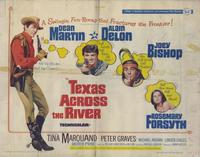 Texas across the River - 22 x 28 Movie Poster - Half Sheet Style A