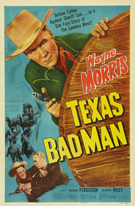 Texas Bad Man - 27 x 40 Movie Poster - Style A