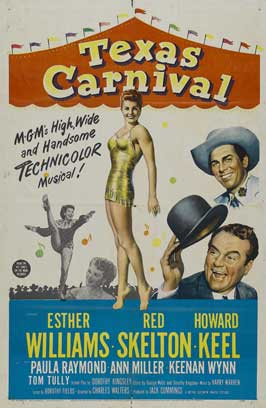 Texas Carnival - 11 x 17 Movie Poster - Style A
