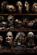 Texas Chainsaw 3D - DS 1 Sheet Movie Poster - Style A