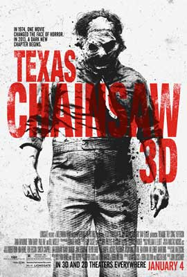 Texas Chainsaw 3D - 27 x 40 Movie Poster - Style A