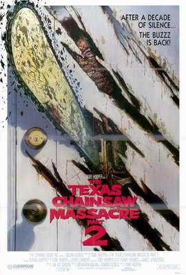The Texas Chainsaw Massacre 2 - 27 x 40 Movie Poster - Style B