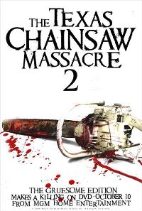 The Texas Chainsaw Massacre 2 - 43 x 62 Movie Poster - Bus Shelter Style A