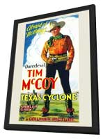 Texas Cyclone - 11 x 17 Movie Poster - Style A - in Deluxe Wood Frame