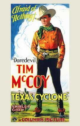 Texas Cyclone - 11 x 17 Movie Poster - Style A