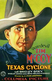 Texas Cyclone - 11 x 17 Movie Poster - Style B