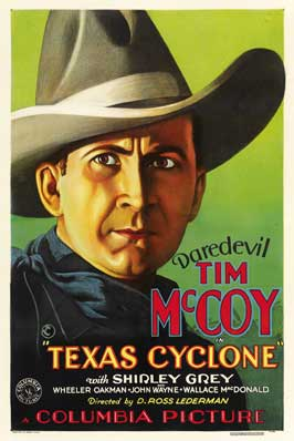 Texas Cyclone - 27 x 40 Movie Poster - Style B