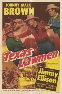 Texas Lawmen - 27 x 40 Movie Poster - Style B